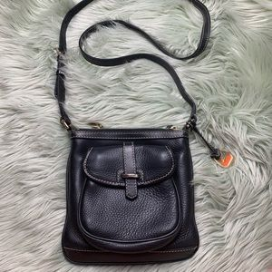 Dooney & Bourke Black Leather Crossbody Bag